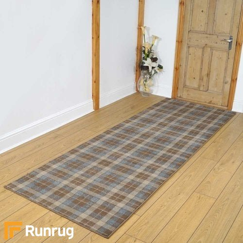 Stirling Gold/Silver Hallway Carpet Runners