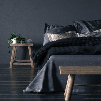 decorate a dark bedroom