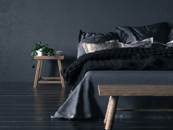Dark Bedroom Ideas: How to Decorate with Dark Colours ...