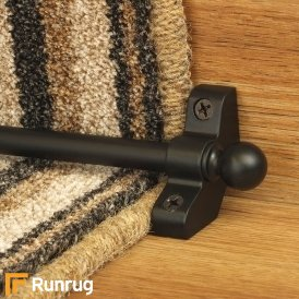 Jubilee Black Stair Rod