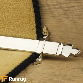 Royal Polished Nickel Beaumont Stair Rod