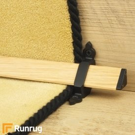 Tudor Black Light Wood Stair Rod