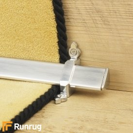 Royal Brushed Chrome Vue Stair Rod