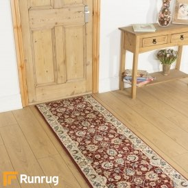 Valero Red Cream Runner