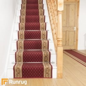 Acni - Red Stair Carpet Runner