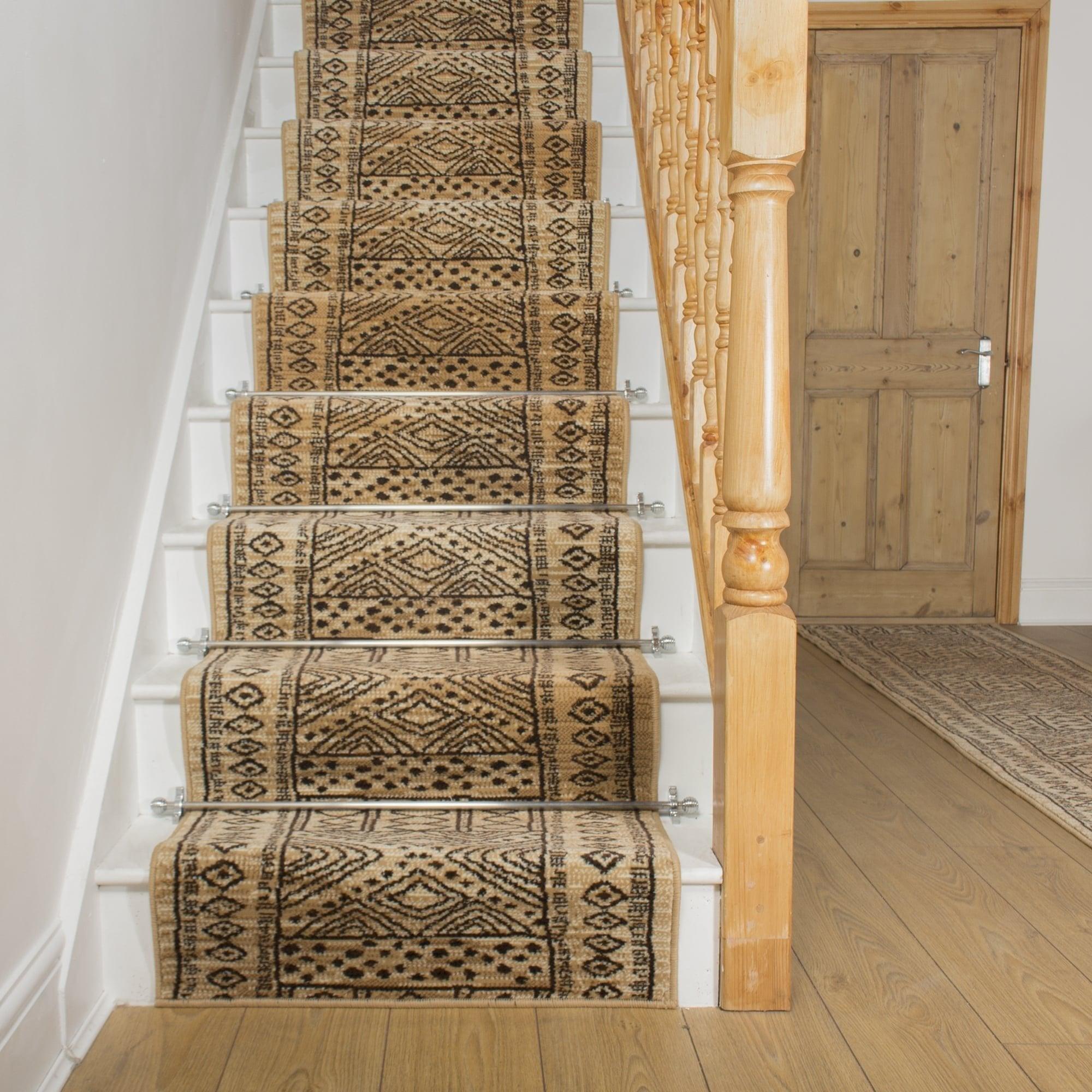 Afrikans berber stair runner for Woven carpet for stairs