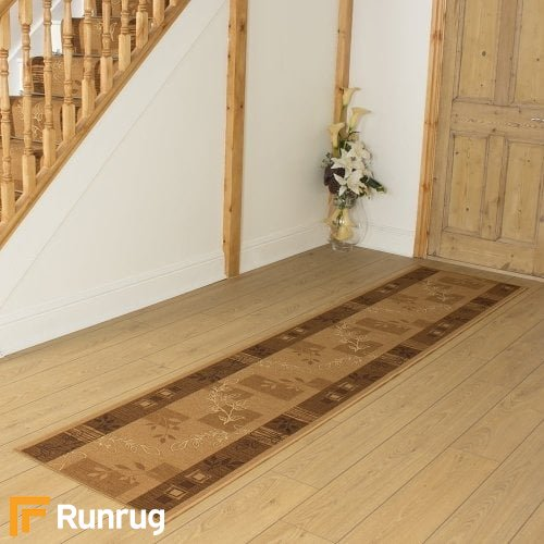 Agadir Brown Hall Runner