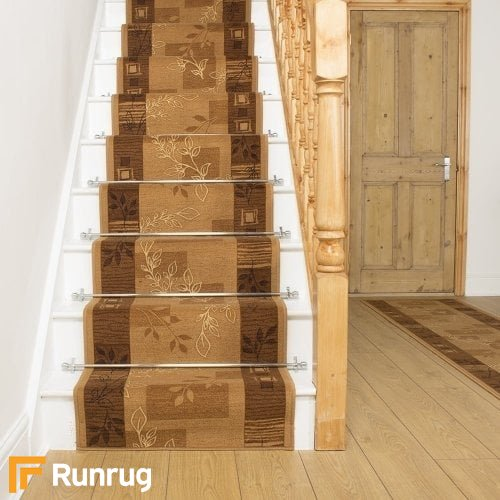 Agadir Brown Stair Runner