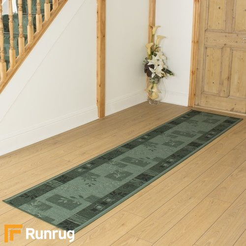 Agadir Green Hall Runner
