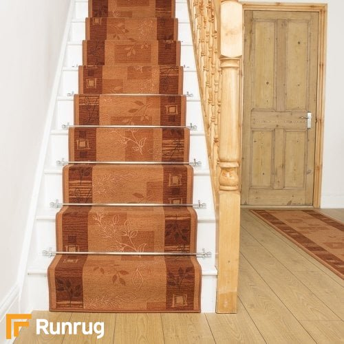 Agadir Terracotta Stair Runner