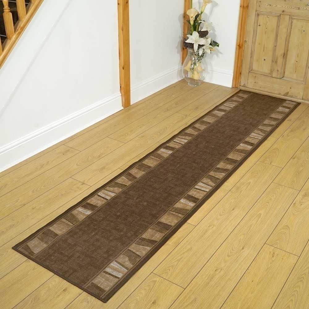 alba dark brown hallway carpet runners