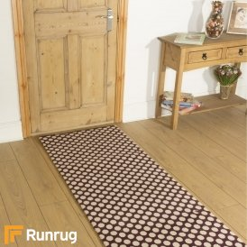 Quirky Dotty Damson 7026 Hall Runner
