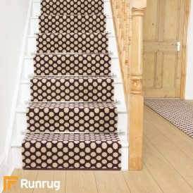 Quirky Dotty Damson 7026 Stair Runner