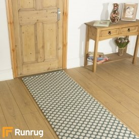 Quirky Dotty Duck Egg 7023 Hall Runner