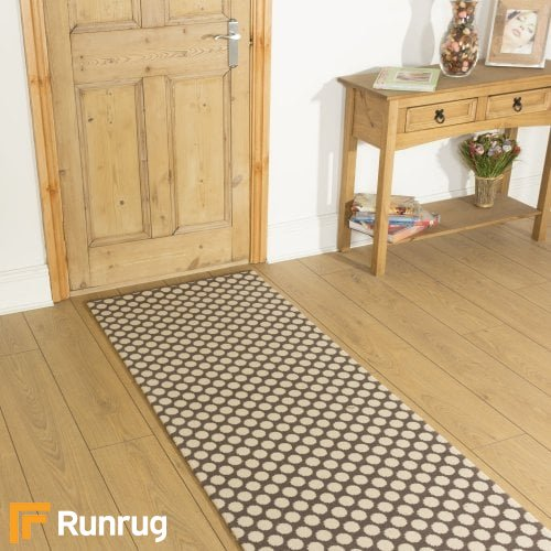 Alternative Flooring Quirky Dotty Grey 7021 Hall Runner