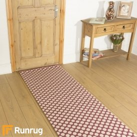 Quirky Dotty Pink 7025 Hall Runner