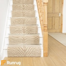 Quirky Skinny Natural 7061 Stair Runner