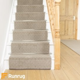 Quirky Tess Grey 7001 Stair Runner
