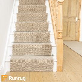 Quirky Tess Natural 7002 Stair Runner