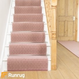 Quirky Tess Pink 7005 Stair Runner
