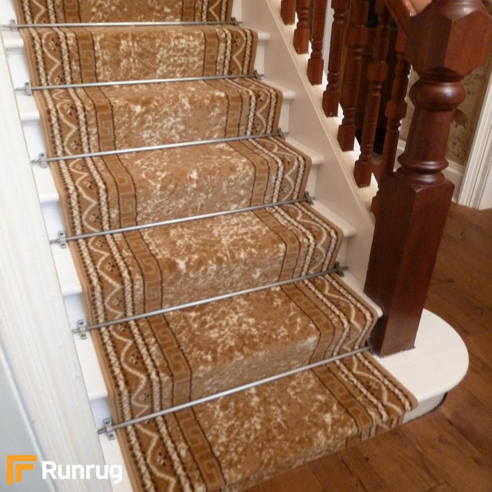 Replacing Carpet With A Stair Runner: Beige Stair Carpet Runner Amazon