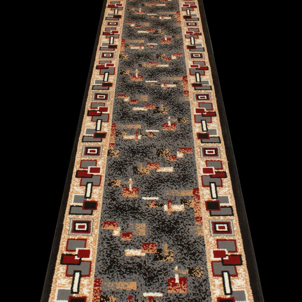 Amüsieren Schwarz  Läufer Teppich Flur Matte Für Halle