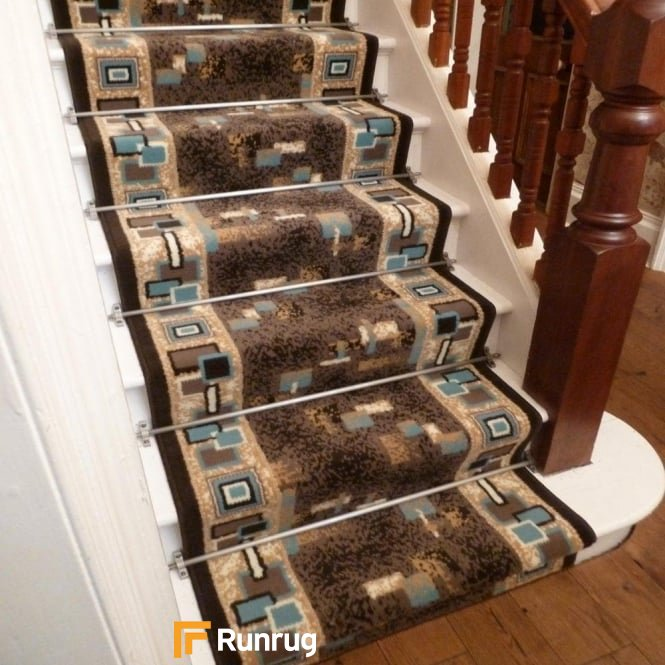Amuse Brown Stair Runner