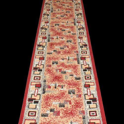 Amuse - Red Hallway Carpet Runner