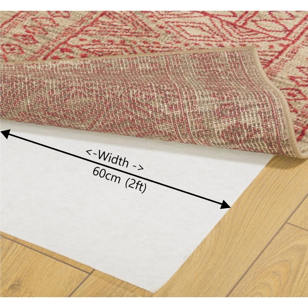 Anti Slip Rug Underlay 60cm Carpet
