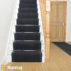 Aztec Blue Stair Runner