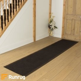 Aztec Dark Brown Hall Runner
