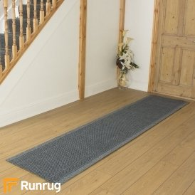 Aztec Grey Hall Runner