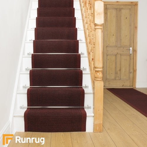 Aztec Red Stair Runner