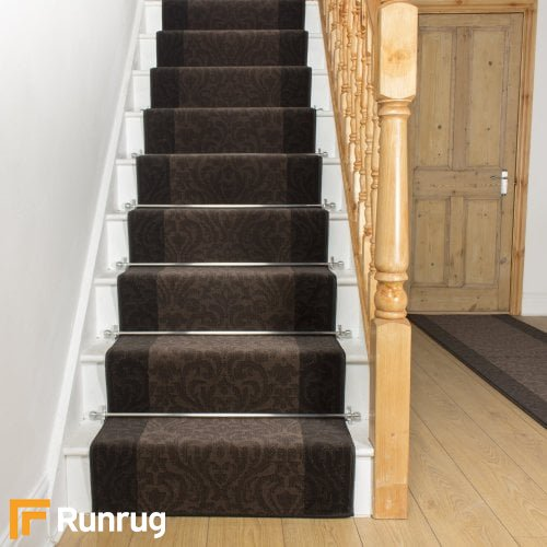 Baroque Cacao Choco Stair Runner
