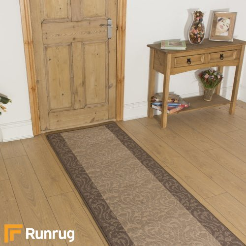 Baroque Choco Taupe Hall Runner
