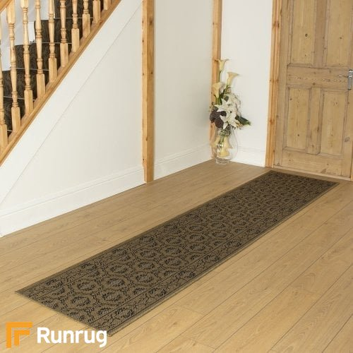 Bloom Brown Hall Runner