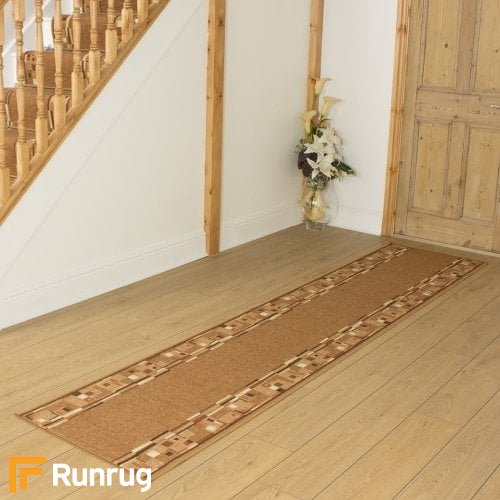 Bombay Golden Brown Hall Runner