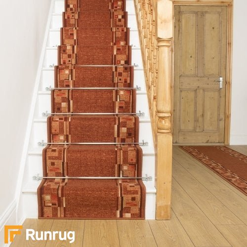 Bombay Terracotta Stair Runner