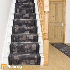 Bora Graphite Stair Runner