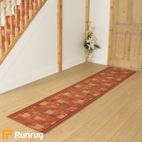 Bora Terracotta Hall Runner
