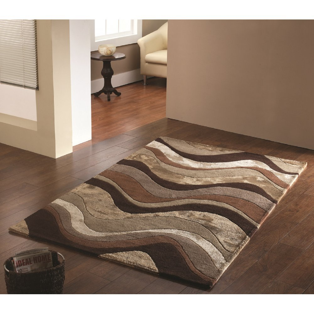 botanical saria brown taupe rug only available at carpet runners uk
