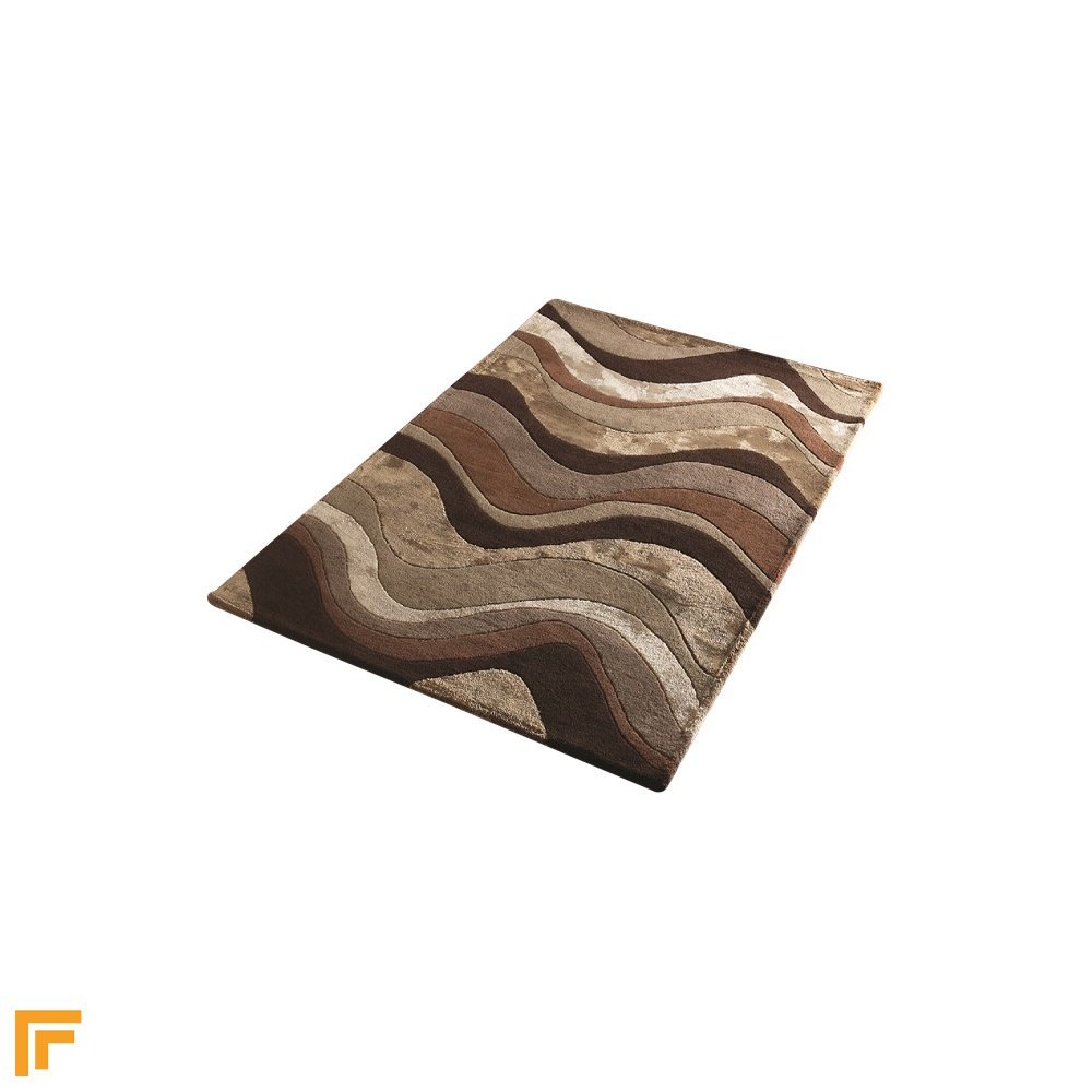 Botanical saria brown taupe rug only available at carpet runners uk Sdb chocolat taupe
