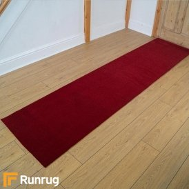 Brink & Campman 80/20 Wool Hallway Runner - Basics Red 11000