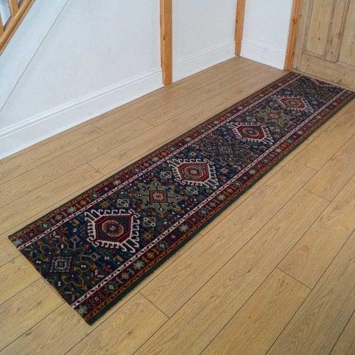 Carpets, Mats & Accessories Brink & Campman 80/20 Wool Hallway Runner - Emir Blue 10624