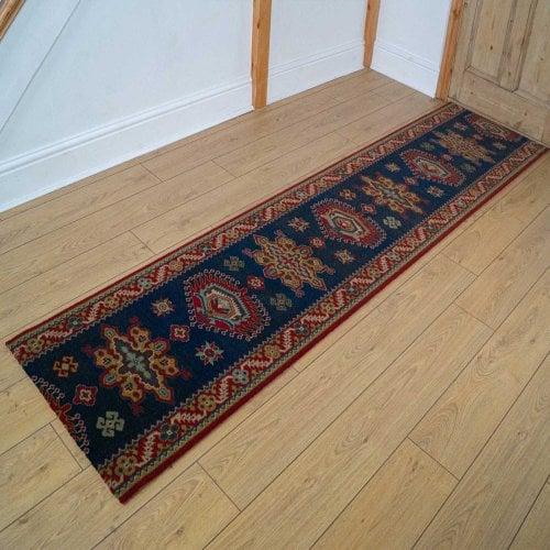 Carpets, Mats & Accessories Brink & Campman 80/20 Wool Hallway Runner - Emir Green 10520