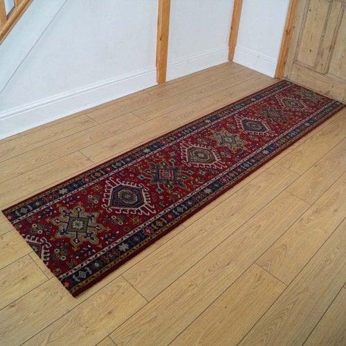 Carpets, Mats & Accessories Brink & Campman 80/20 Wool Hallway Runner - Emir Red 10622
