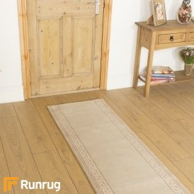 Brink & Campman 80/20 Wool Hallway Runner - Hellas Cream 10804
