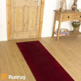 Brink & Campman 80/20 Wool Hallway Runner - Hellas Red 10801