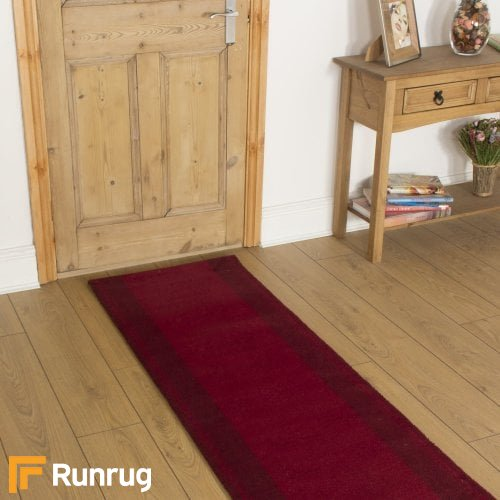 Brink & Campman 80/20 Wool Hallway Runner - New Classics Red 10300