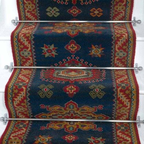 Carpets, Mats & Accessories Brink & Campman 80/20 Wool Stair Runner - Emir Green 10520